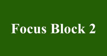 Focus Block 2